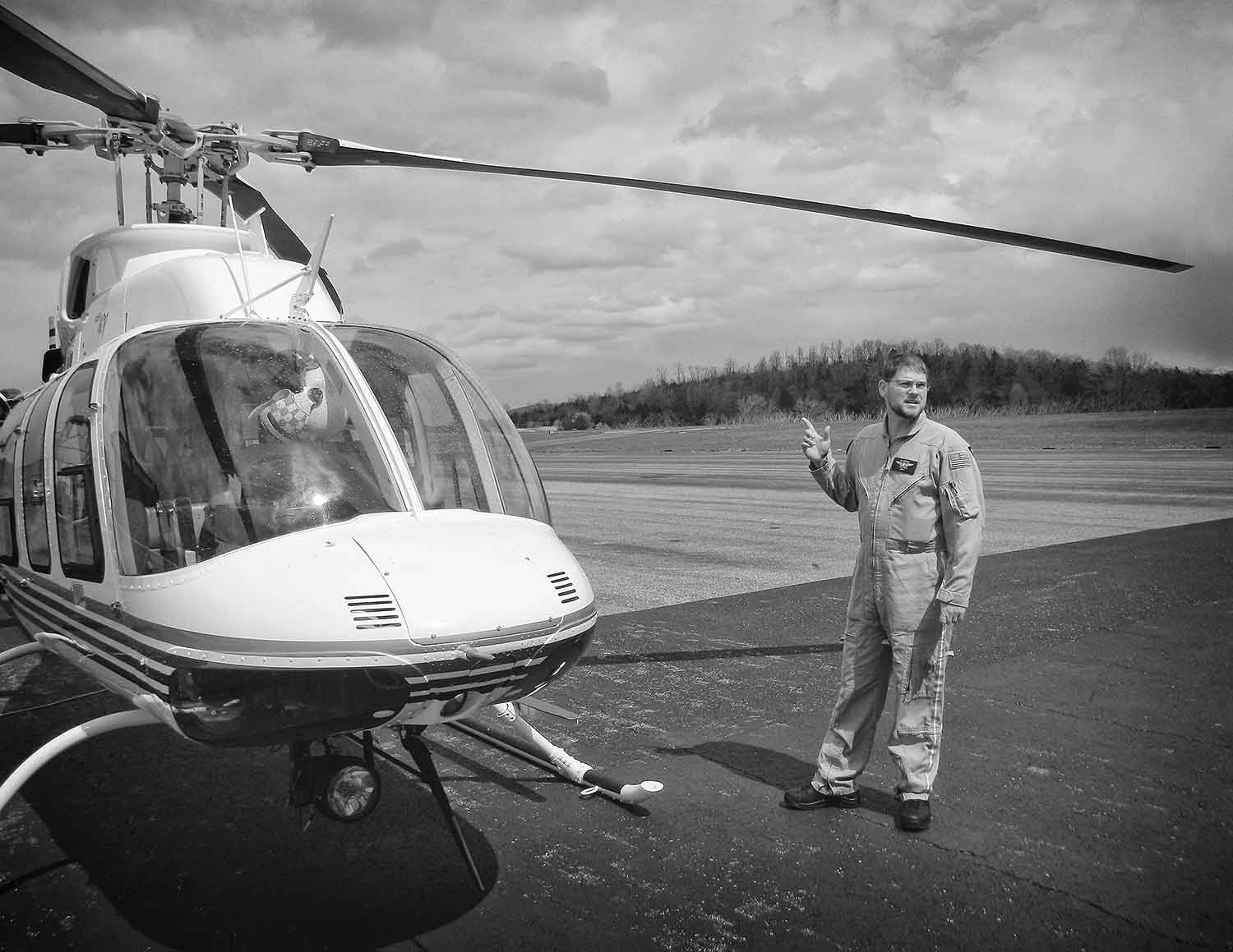 Terry Neal speaks on the importance of providing emergency care for remote areas of East Tennessee. photo by Chet Guthrie - 2016