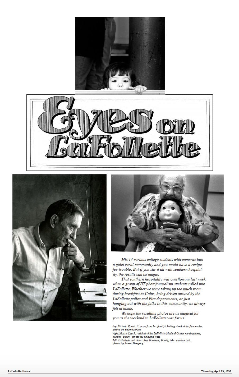 1993 Eyes On LaFollette issue