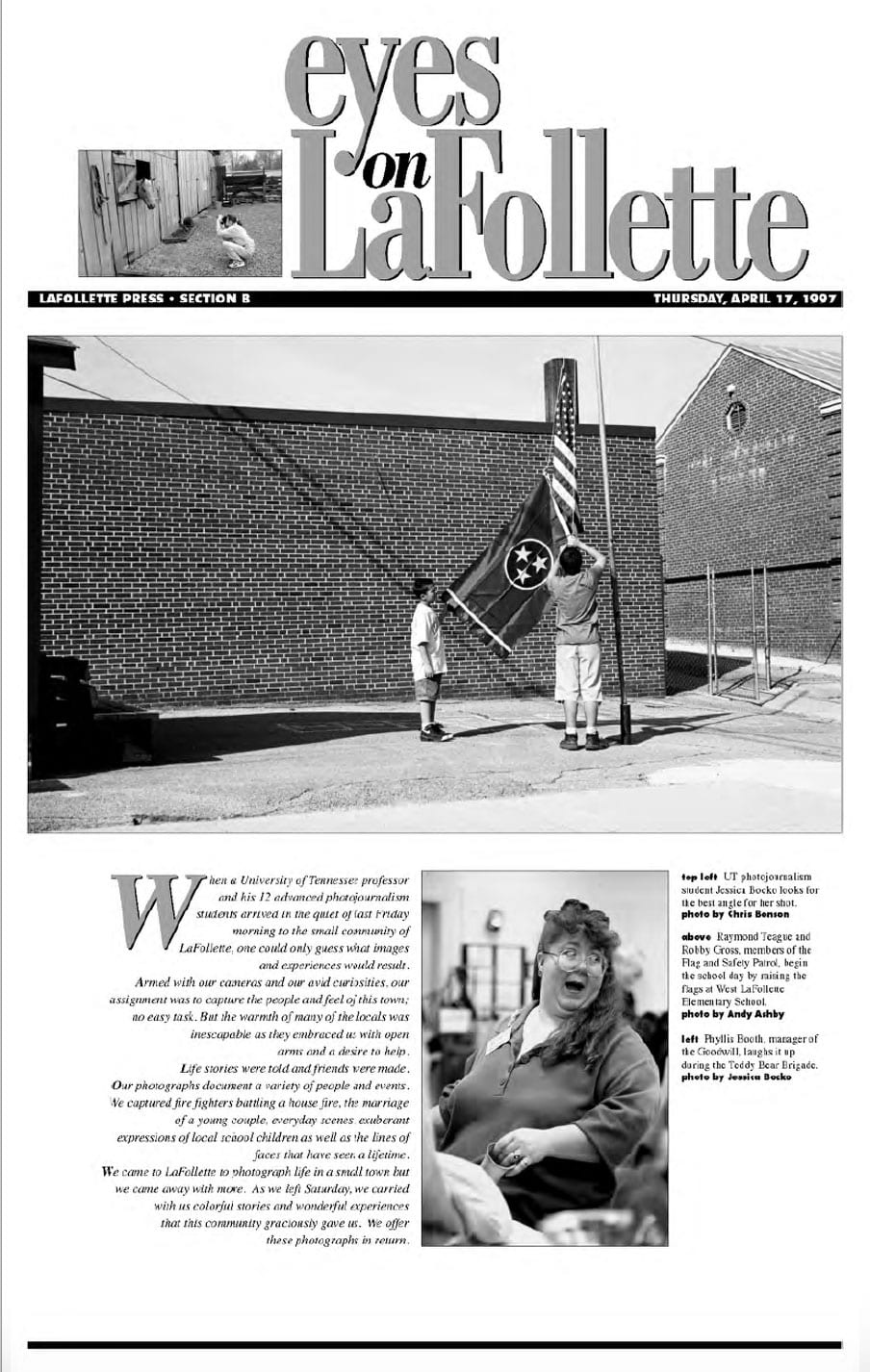 1997 Eyes On LaFollette issue
